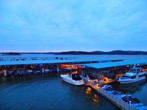 Dusk time on Lake Travis