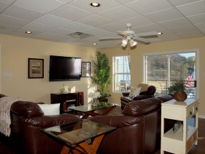 Living Room Lake Travis Vacation Rental
