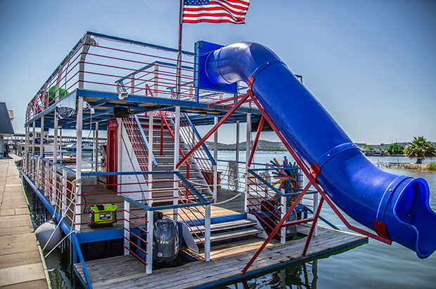Party Barge on Lake Travis Party Boat Rentals